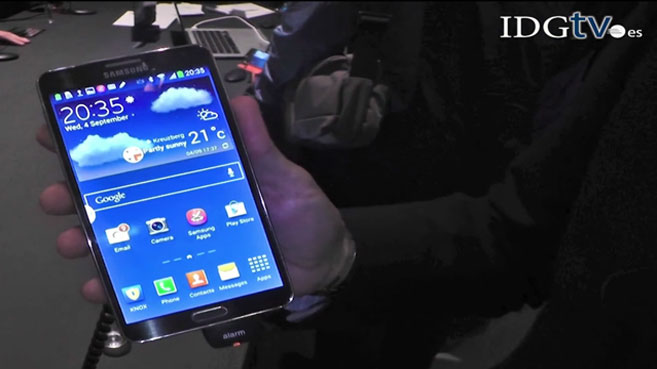 Samsung Galaxy Note 3-demo